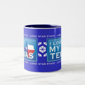 J aime ma tasse de café du Texas