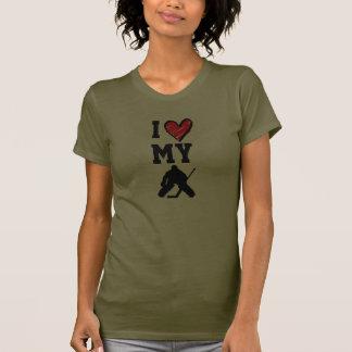 J aime mon gardien de but t-shirt