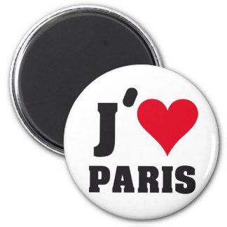 J´AIME PARIS 2 INCH ROUND MAGNET