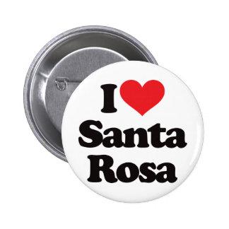 J aime Santa Rosa Badge Avec Épingle