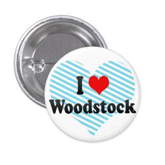 J aime Woodstock Canada Badge Avec Épingle