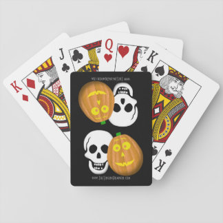 J and Skully Playing Cards