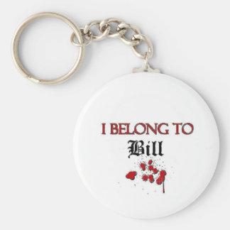 J appartiens à Bill Porte-clef