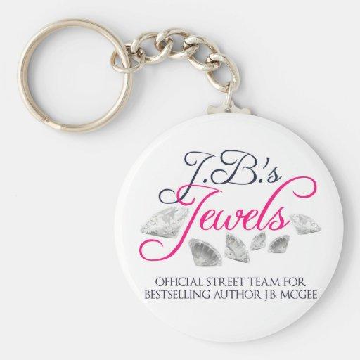 J.B. Jewels le porte - clé rond d'équipe de rue Porte-clé