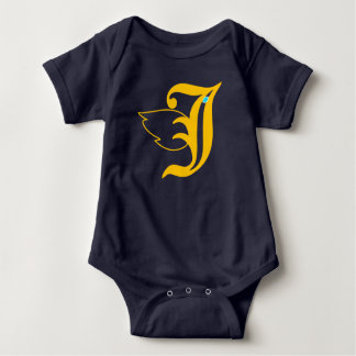 J bird baby bodysuit