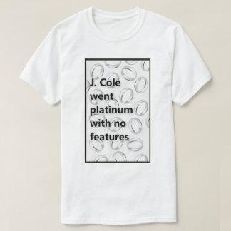 J. Cole Went Platinum with No Features T-Shirt