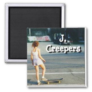 J. Creepers Skategirl Magnet