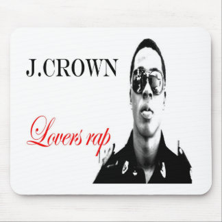 """J.crown - """"Lovers rap"""" Merch Mousepads"""