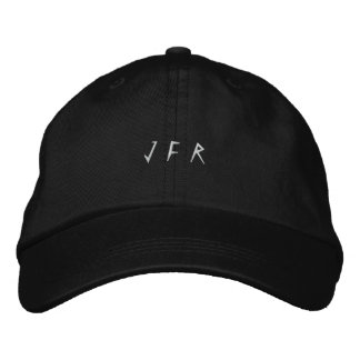 J F R EMBROIDERED HAT