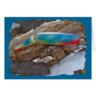 """J & H """"WIG LIT"""" Vintage Saltwater Lure Items Card"""