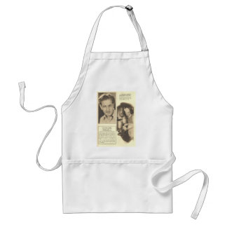 J. Harold Murray Ham with Coffee Recipe Apron