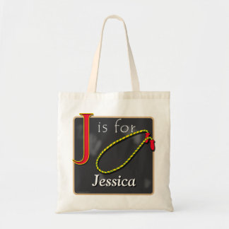J Is For Jump Rope J Is For Jessica Tote Bag