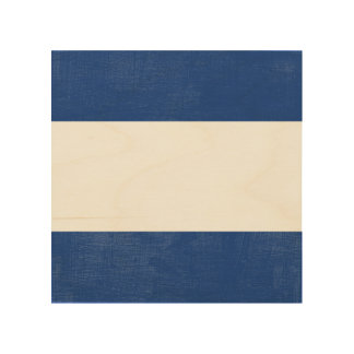 J Juliette Nautical Alphabet Signal Flag Wood Wall Art
