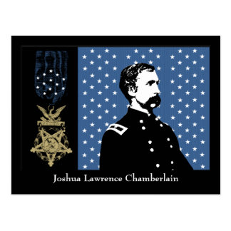 J.L. Chamberlain and the Medal of Honor Postcard
