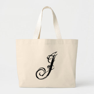 J letter J bag graphic fashion customized bag