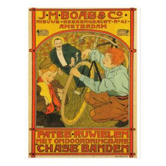 J.M Boas & Co. Bicycles Postcard
