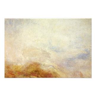 J. M. W. Turner - A mountain scene, Val d'Aosta Photo Art