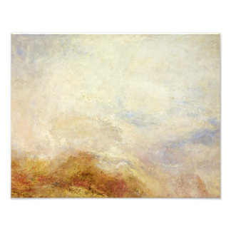 J. M. W. Turner - A mountain scene, Val d'Aosta Photographic Print