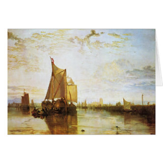 J. M. W. Turner - The Dort 1818 Card