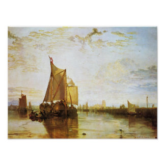 J. M. W. Turner - The Dort 1818 Poster
