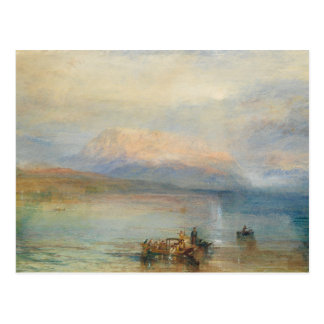 J. M. W. Turner - The Red Rigi Postcard