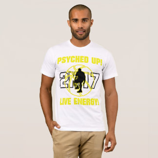 J-MO-NET PSYCHED UP 2K17 (BGHT YELLOW) T-Shirt