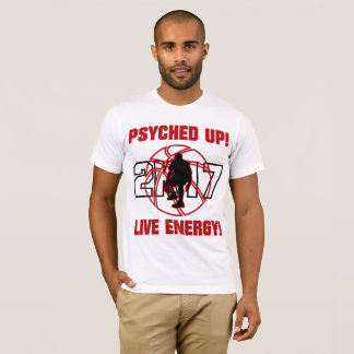 J-MO-NET PSYCHED UP 2K17 (BRGHT RED) T-Shirt
