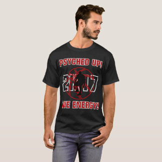 J-MO-NET PSYCHED UP 2K17 (DEEP RED) T-Shirt