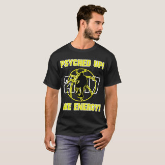 J-MO-NET PSYCHED UP 2K17 (YELLOW) T-Shirt