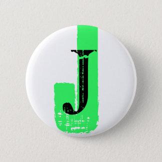 J Monogram - Customizable button