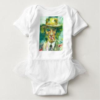 J. robert oppenheimer portrait.1 baby bodysuit