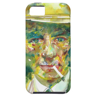 J. robert oppenheimer portrait.1 case for the iPhone 5