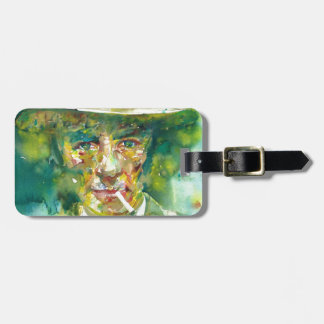 J. robert oppenheimer portrait.1 luggage tag