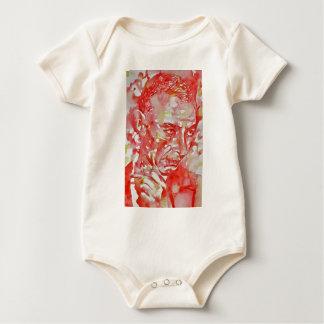 J. robert oppenheimer portrait.2 baby bodysuit