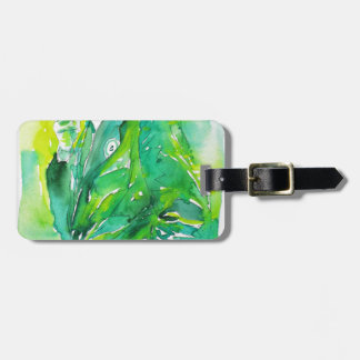 J. robert oppenheimer portrait.3 luggage tag