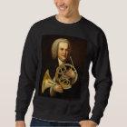 J.S. Bach with Horn Sweatshirt