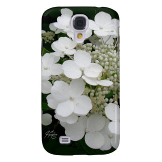 J Spoelstra White Floral Samsung Galaxy 4 Case