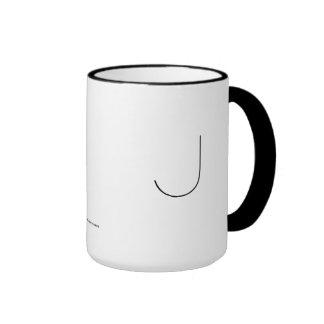J THE MINIMALIST VIEW COFFEE MUG