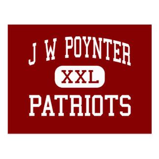 J W Poynter - Patriots - Junior - Hillsboro Oregon Postcard