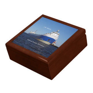 J.W. Shelley keepsake box