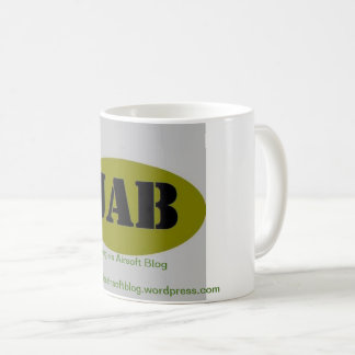 JAB Jungle's Airsoft Blog coffee mug