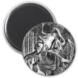 Jabberwocky 2 Inch Round Magnet