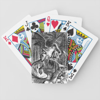 Jabberwocky Bicycle Playing Cards