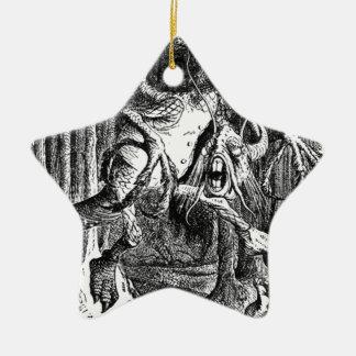 Jabberwocky Ceramic Ornament