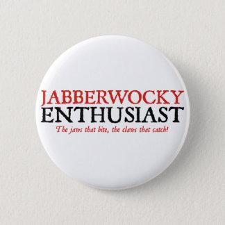 Jabberwocky Enthusiast 2 Inch Round Button