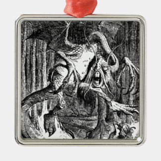 Jabberwocky Metal Ornament
