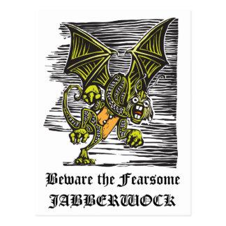 Jabberwocky Postcard