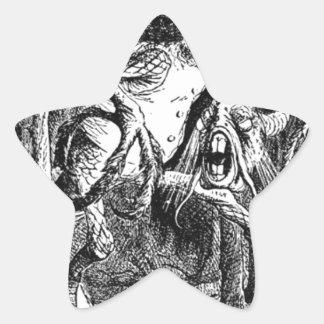 Jabberwocky Star Sticker