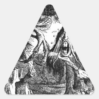 Jabberwocky Triangle Sticker
