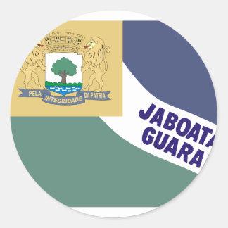 Jaboataodosguararapes Pernambuco Brasil, Brazil Classic Round Sticker